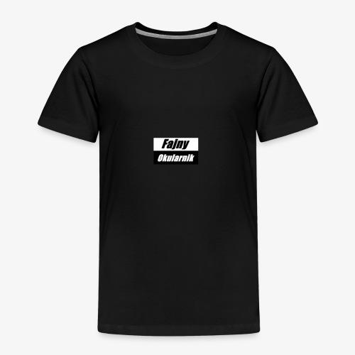 fajny okularnik - Koszulka dziecięca Premium