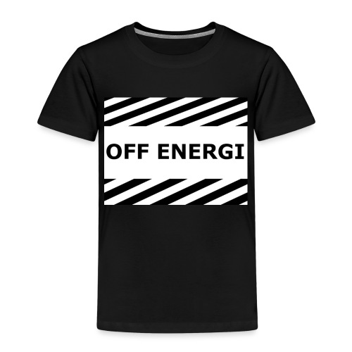 OFF ENERGI officiel merch - Premium-T-shirt barn