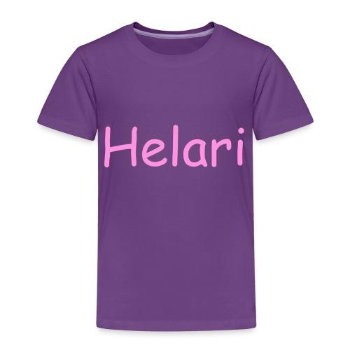 Helari Merch - Lasten premium t-paita