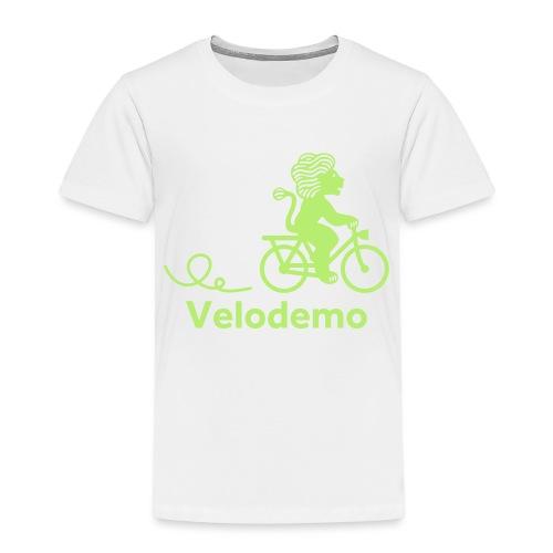 Züri-Leu mit Text - Kinder Premium T-Shirt