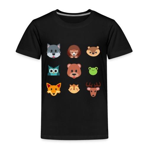 Les animaux de la forêt - T-shirt Premium Enfant