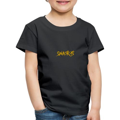 Gold Snickas Status Merch - Kids' Premium T-Shirt