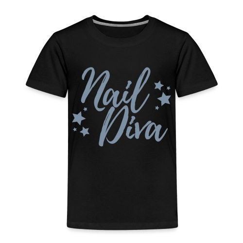 Nail Diva Vector Funny T-Shirt for the Nail Tech - Kinderen Premium T-shirt