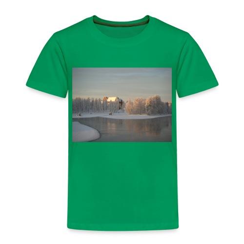 Talvinen Joensuu - Lasten premium t-paita