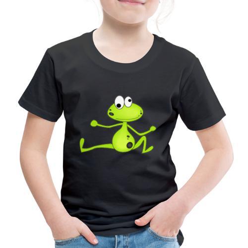 Lustiger Frosch - Kinder Premium T-Shirt