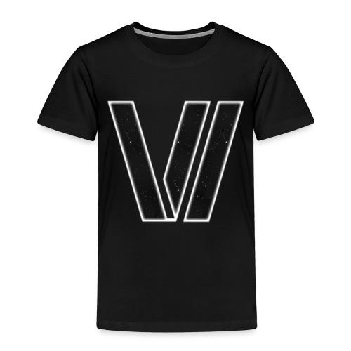 VV Logo SPACE WHITE BG - Kids' Premium T-Shirt