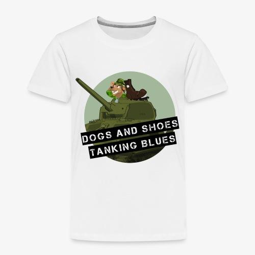 logo dogs nieuw - Kinderen Premium T-shirt