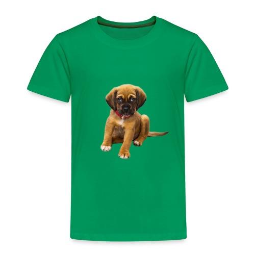 Süsses Haustier Welpe - Kinder Premium T-Shirt