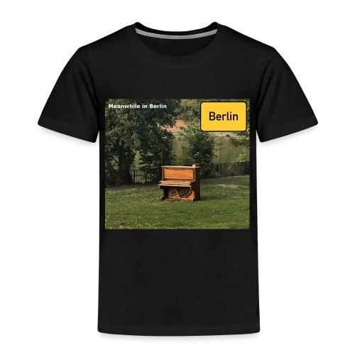 lonely Piano - Kinder Premium T-Shirt