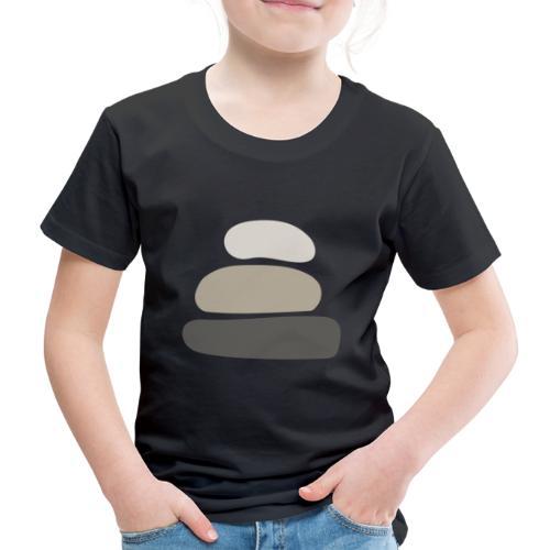 piedras transparente - Camiseta premium niño