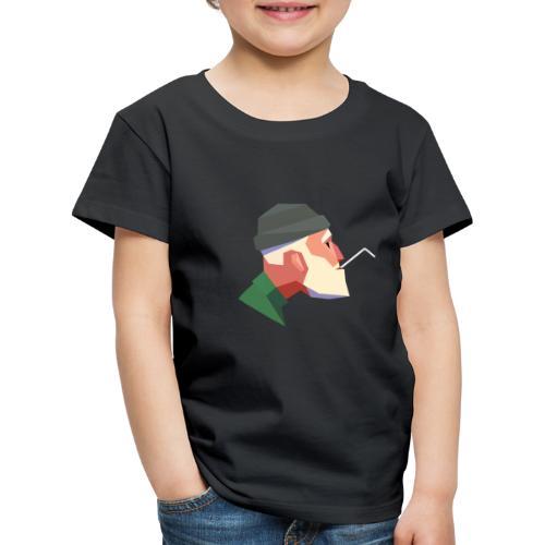 STRAWS KILL - Premium-T-shirt barn