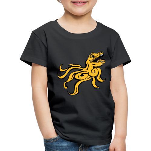 Octorex Dinoface - Kids' Premium T-Shirt