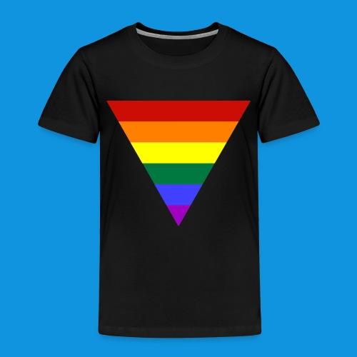 Pride Triangle pocket tank - Kids' Premium T-Shirt