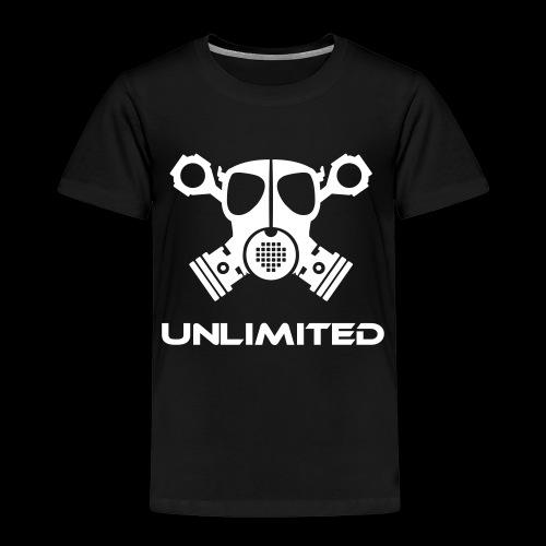 EPS Logo mit Schriftzug t - Kinder Premium T-Shirt