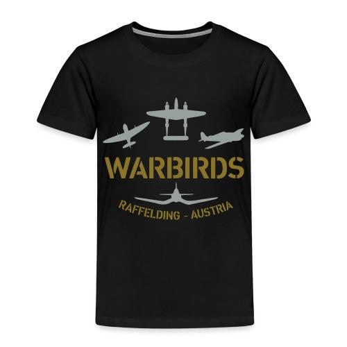 Kontrast-Shirt Warbirds Raffelding - Kinder Premium T-Shirt