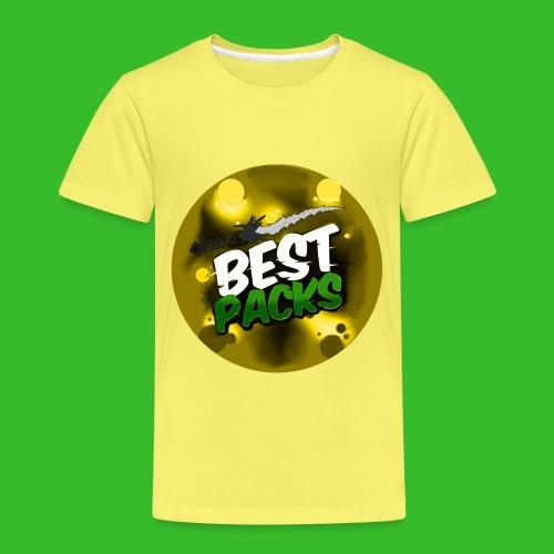 Yellow Pack Nation Logo - Kids' Premium T-Shirt