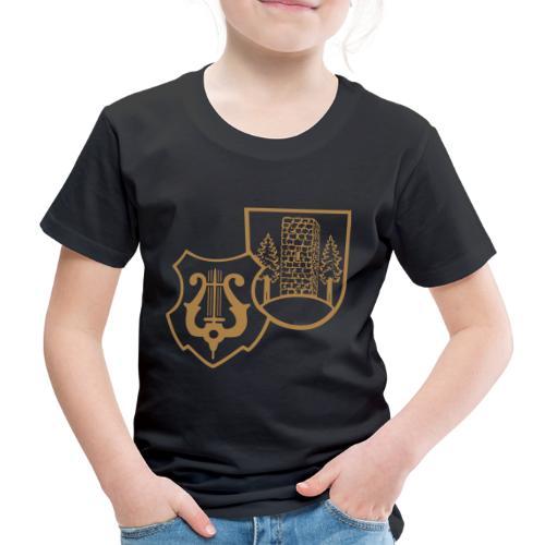 MVW Welden Logo Schwarz gross - Kinder Premium T-Shirt