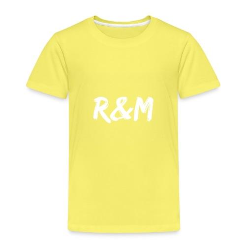 R&M Large Logo tshirt black - Kids' Premium T-Shirt