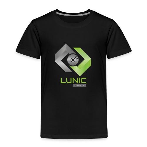 Lunic Music Logo (bunt) - Kinder Premium T-Shirt