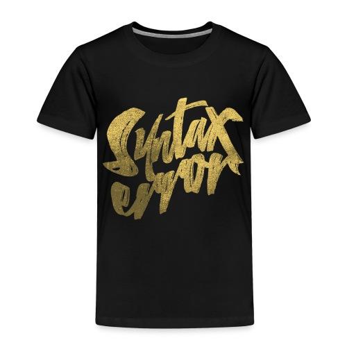 Syntax Error - Premium-T-shirt barn