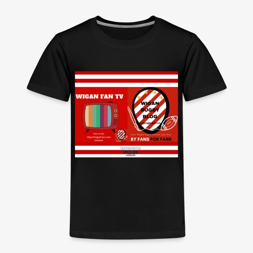 Sponsored by Logo - Kids' Premium T-Shirt
