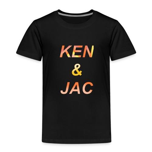Ken & Jac Logo - Premium T-skjorte for barn
