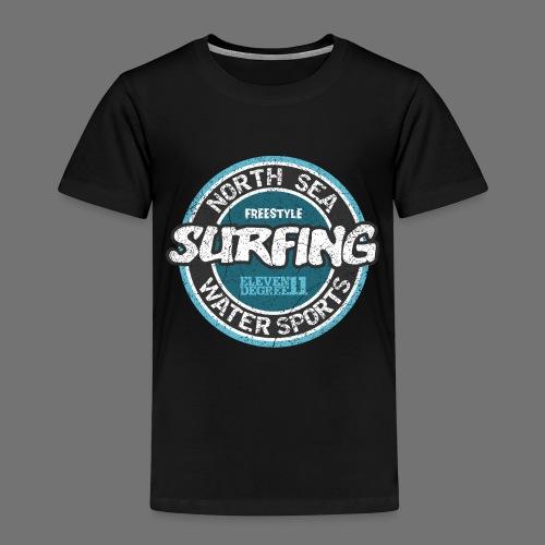North Sea Surfing (oldstyle) - Koszulka dziecięca Premium