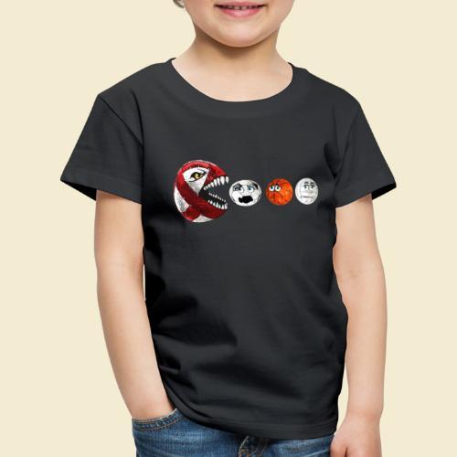 Radball | Cycle Ball RedMan - Kinder Premium T-Shirt