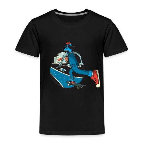 Skater Dog - Camiseta premium niño