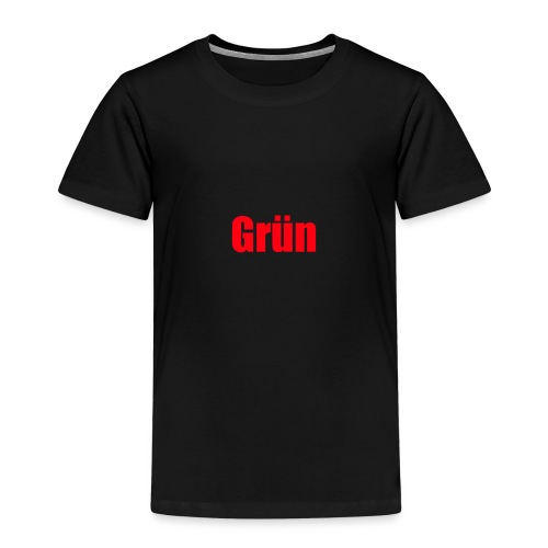 Grün - Kinder Premium T-Shirt