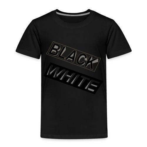 Black-and-White_Reverse - Kinder Premium T-Shirt