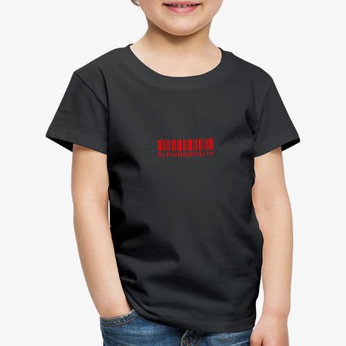 BASS X ALPHASANSITY - Kinderen Premium T-shirt