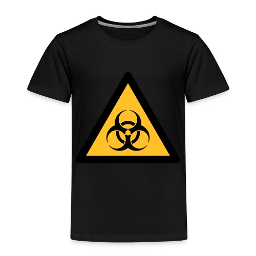 Hazard Symbol - Biohazard (2-color) - Kids' Premium T-Shirt