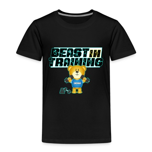 Baby Beast Training Teddybär Süß Kinder Geschenk - Kinder Premium T-Shirt