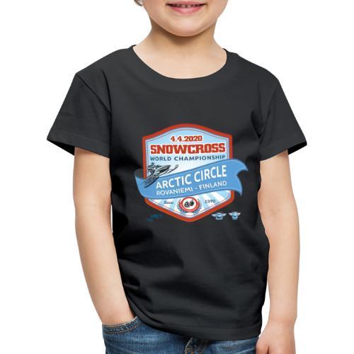 MM Snowcross 2020 virallinen fanituote - Lasten premium t-paita