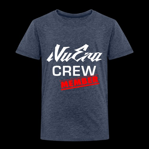 NuEra Crew Logo 2018 - Kinder Premium T-Shirt