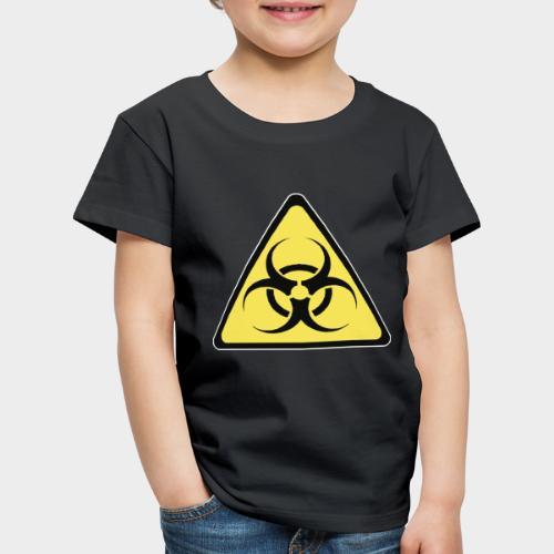 SEÑAL BIOHAZARD - Camiseta premium niño