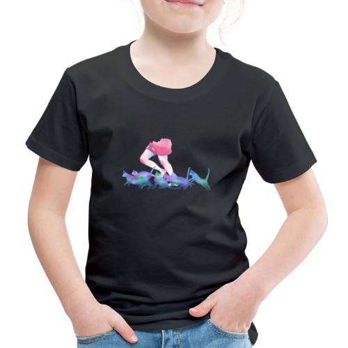 summer rain - Kids' Premium T-Shirt