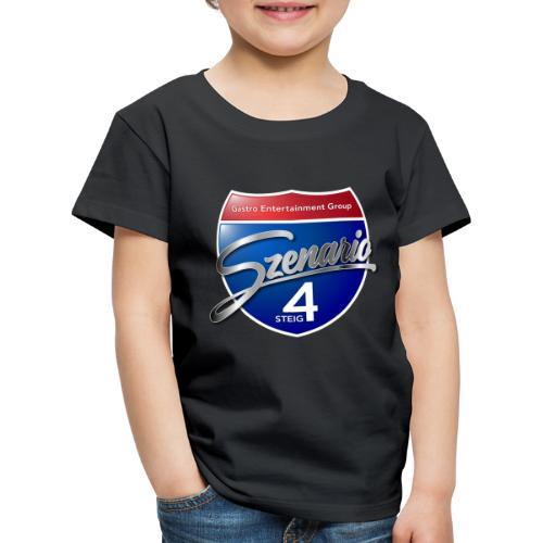 Steig4 - Szenario - Logo - Kinder Premium T-Shirt