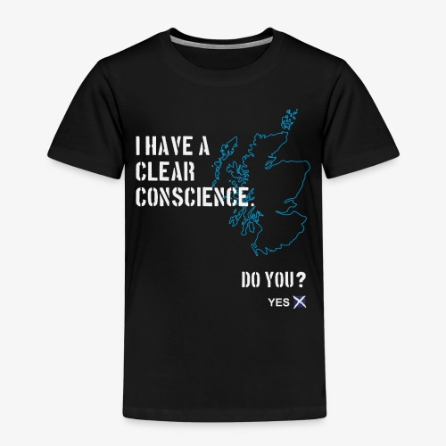 Clear Conscience - Kids' Premium T-Shirt