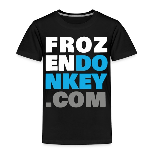 FrozenDonkey Back URL 2 - Kinder Premium T-Shirt