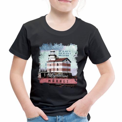 Märket majakkatuotteet, Finland Lighthouse, väri - Lasten premium t-paita