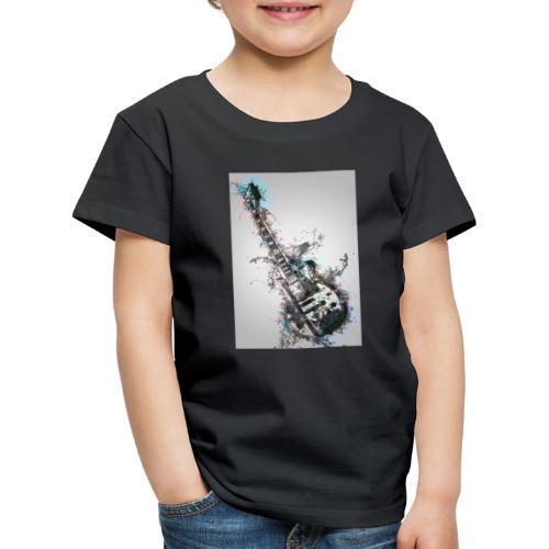 Guitare - T-shirt Premium Enfant
