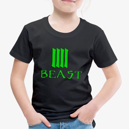 Beast Green - Kids' Premium T-Shirt