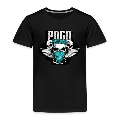 Pogo Festival - Fallen, Aufstehen, Weiter, Machen - Kinder Premium T-Shirt