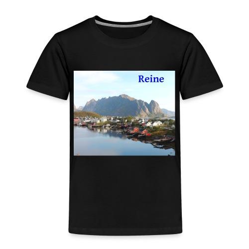 Reine i Lofoten - Premium T-skjorte for barn