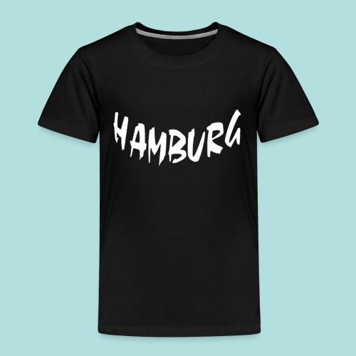 Hamburg weiß bogen unten - Kinder Premium T-Shirt
