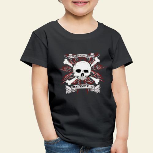 skull - Børne premium T-shirt