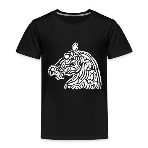 horse - cheval blanc - T-shirt Premium Enfant