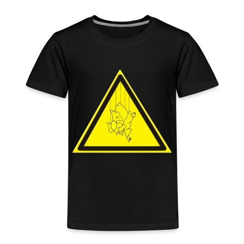 pericolo-caduta-santi - Maglietta Premium per bambini